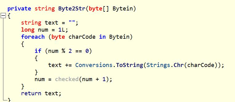 Decryption Function