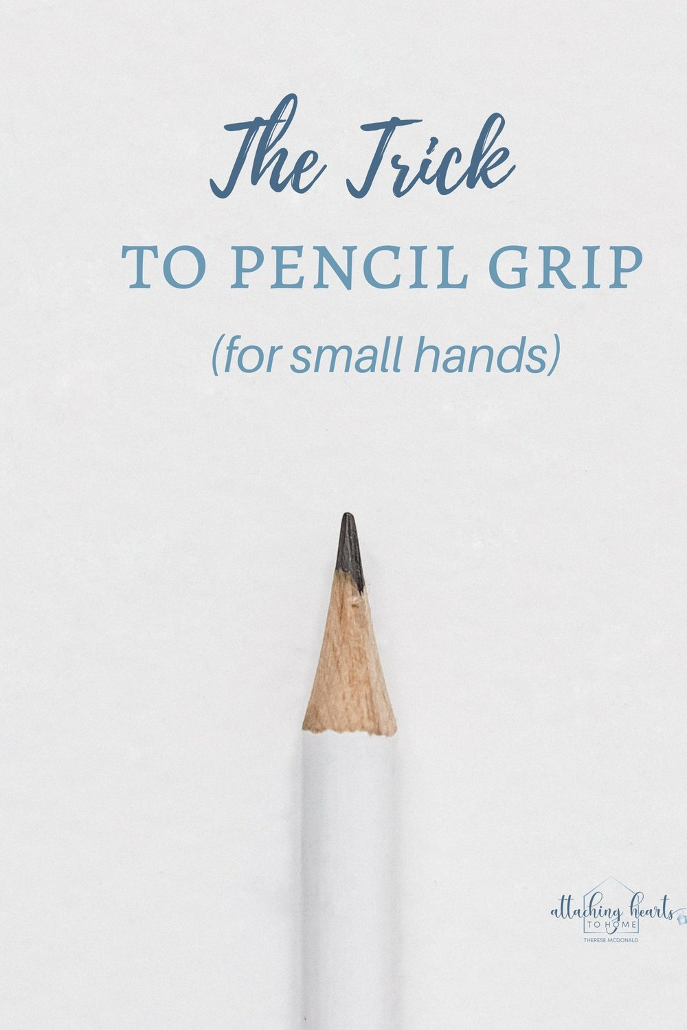 The trick to pencil grip for small hands