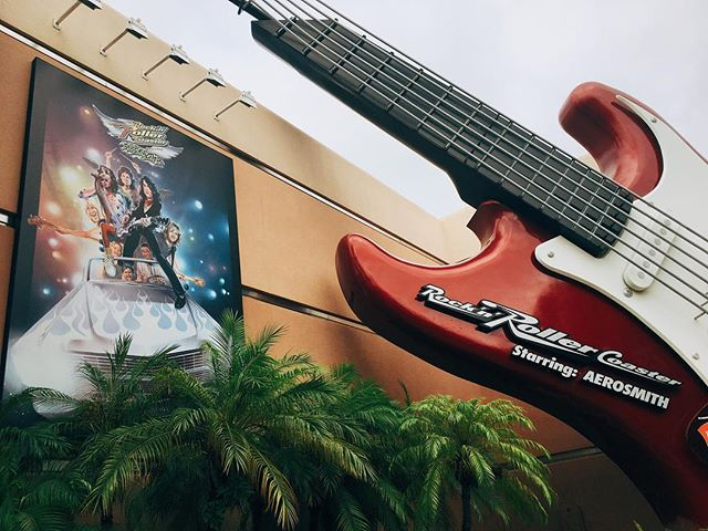 Who doesn't enjoy going 0 to 60 miles per hour in under 2.8 seconds and listening to @aerosmith at the same time?! Which of their songs is your favorite during the ride? #twentyeightnorth #hollywoodstudios