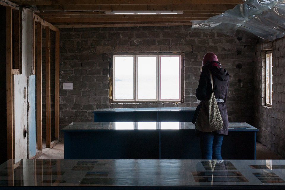 Michala Paludans installasjon  Midnight Safari (2017)  på Fredriksbruket.Foto: Hilde Sørstrøm