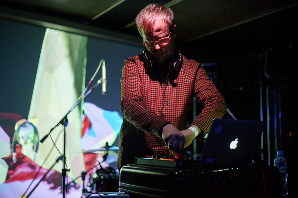 DJ Mental Overdrive   / VJ Markus Garvin. Foto:Edward Mikrukov