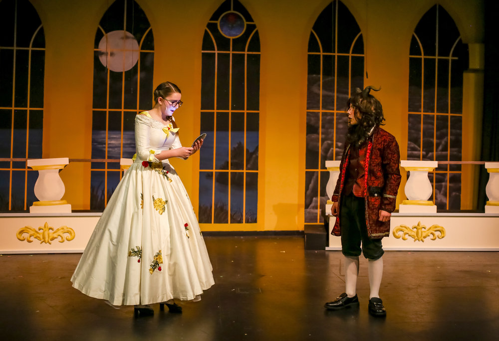 Evergreen Middle School - Beauty and the Beast Jr, 2018