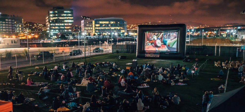 Trestl and SPARK Social SF present: Spark In The Park – Outdoor Movie Night featuring: Half Baked Music before the movie from DJ Mind Motion 15 Food Trucks. Happy Hour from 4:20pm til 7pm. Huge outdoor projector. Movie starts at sundown. Good vibes.