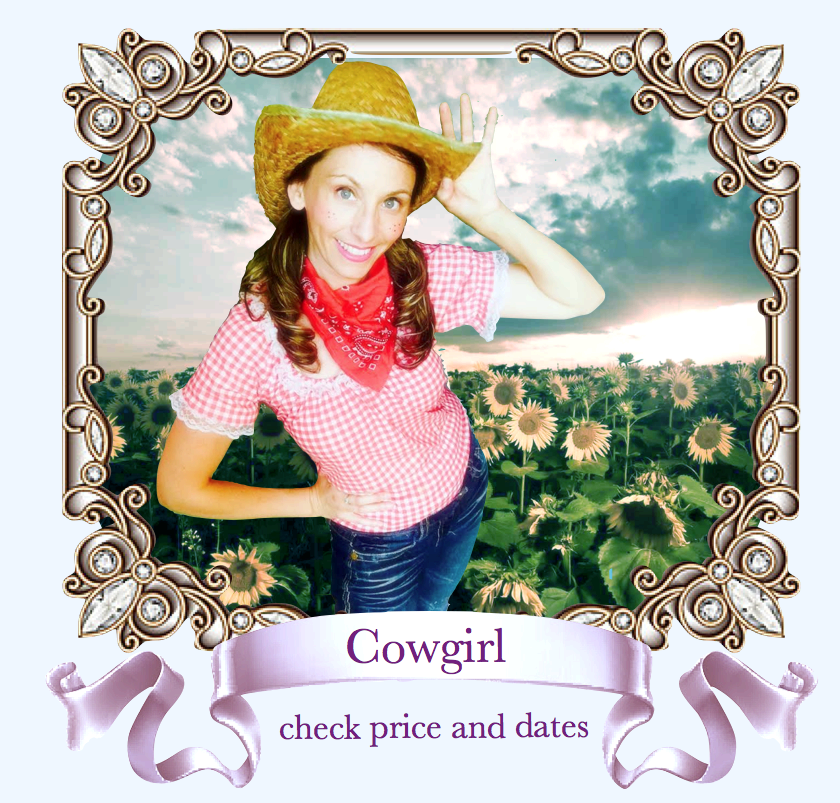 Cowgirl Cowboy Character Party Bay Area Face Painter San Francisco.png