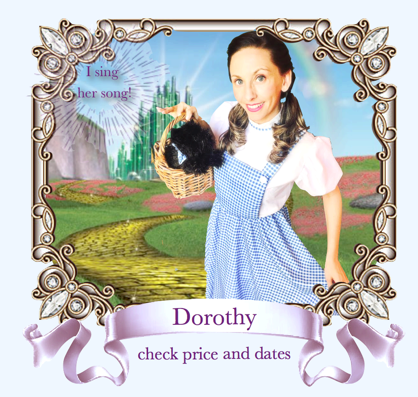 Dorothy Wizard of Oz Actress Character Party Bay Area .png