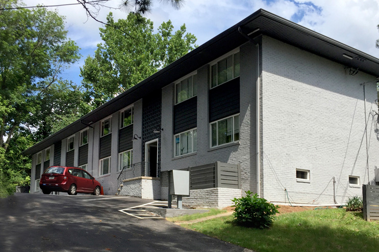 THE WELLBOURNE • Atlanta, GA   Situated in the heart of Morningside, this well-located 1960 apartment building offers spacious, fully renovated and modernized units.   8 Units