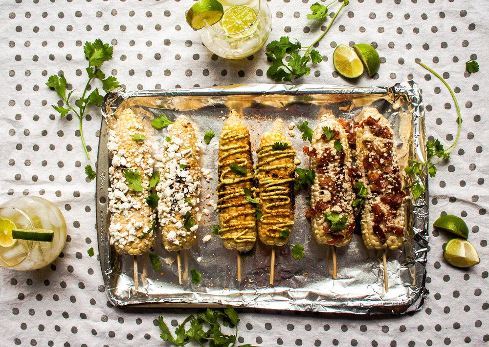 Mexican Street Corn Elotes