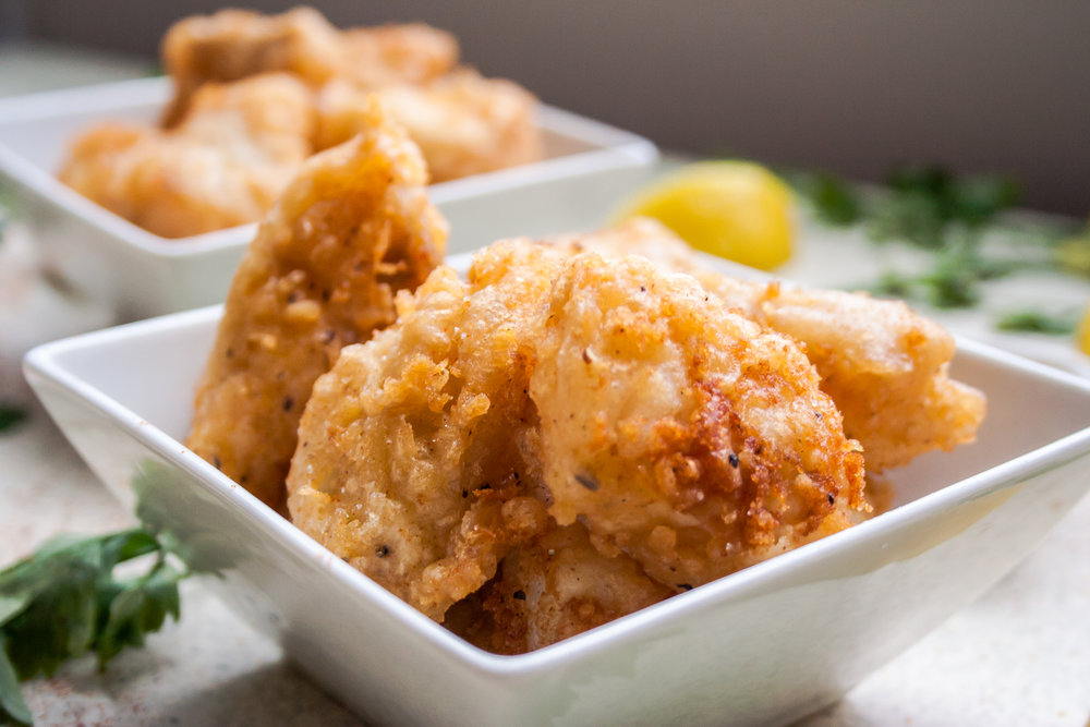 Beer Battered Haddock Bites