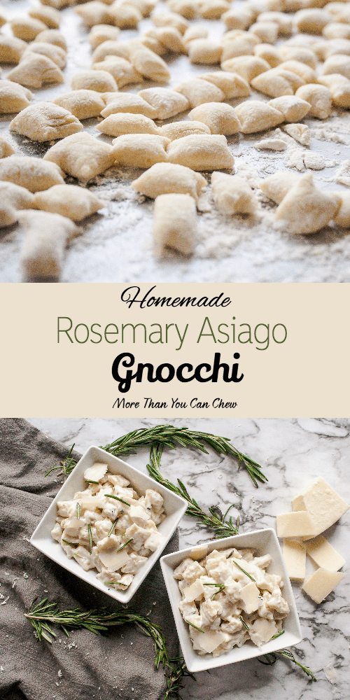 Rosemary Asiago Gnocchi