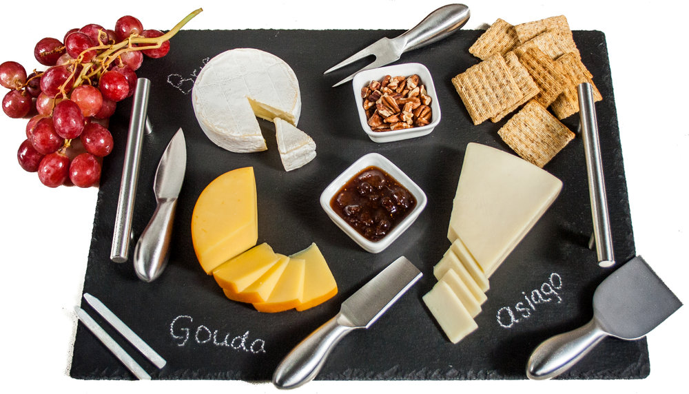 Slate Cheese Board Set | More Than You Can Chew