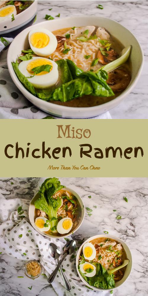 Miso Chicken Ramen