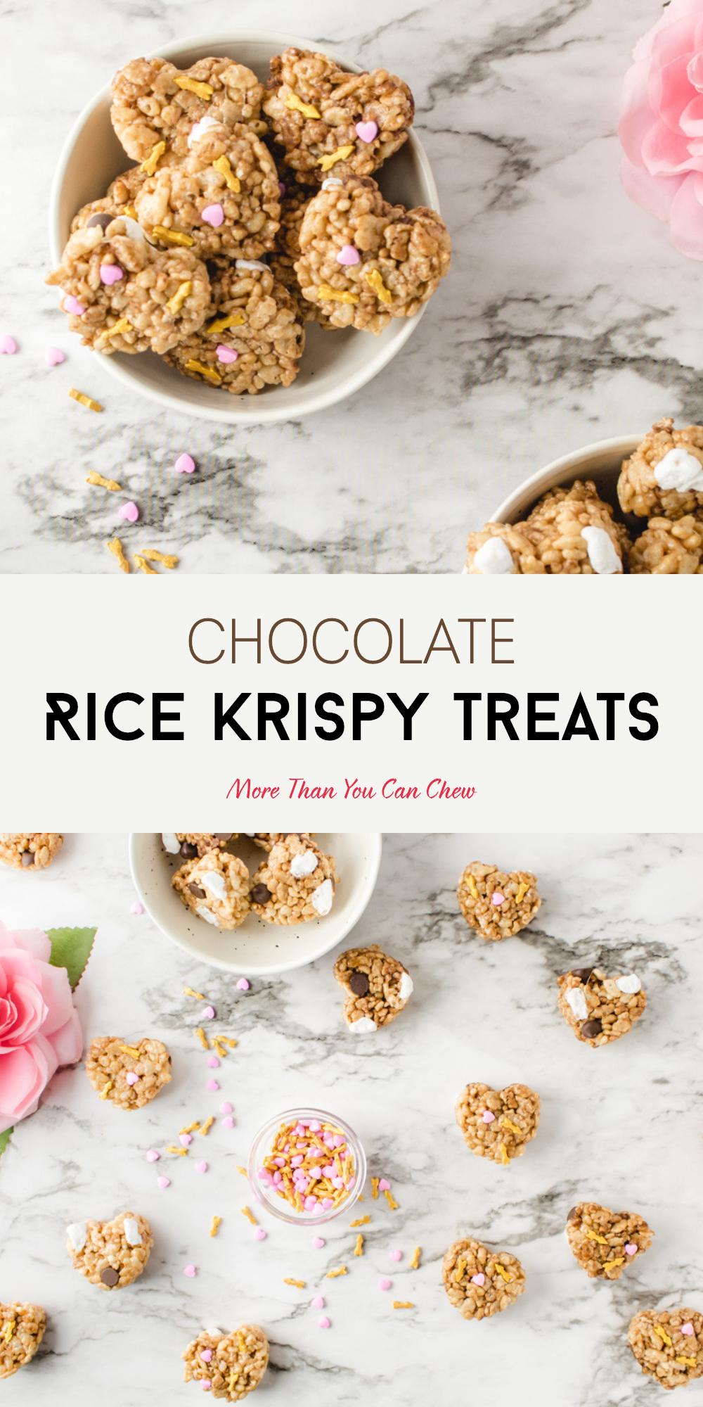 Valentine's Day Rice Krispy Treats