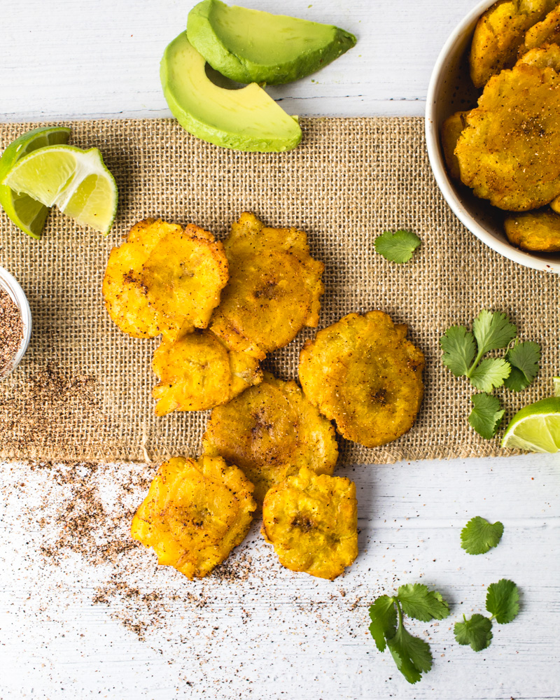 Ancho Chili Lime Tostones