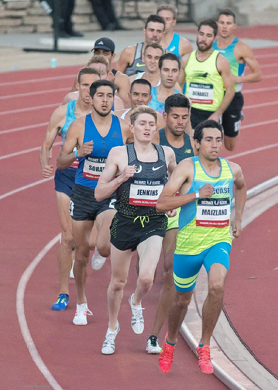 Barron Maizland - Division II All-American in SteeplechaseDefending So Cal USATF Road Mile ChampionSpirit Run Mile Winner (2016)Personal Record in 1500 meters of 3:48Personal Record in Mile on road - 4:03Personal Record in 3000 meters (Steeplechase) - 8:55