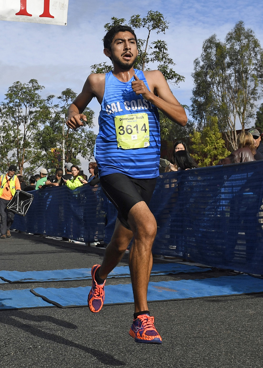 Jose Penaloza - Personal Record in the 3000 meters of 8:40Personal Record in the 5000 meters of 14:46Personal Record in the 8000 meters of 24:42Personal Record in the 10,000 meters of 30:38Personal Record in the Half Marathon of 1:11:58