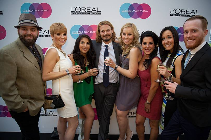 L'Oral Professionnel Colour Trophy - Represented Alberta at the 2013 Canadian Colour Trophy Finals in Toronto.