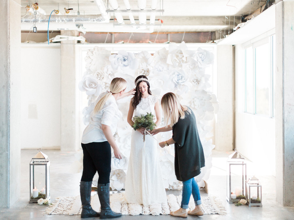 The Bridal Boutique YYC - 2016 Rue De Sein Collection shoot with Hera Weddings and Events