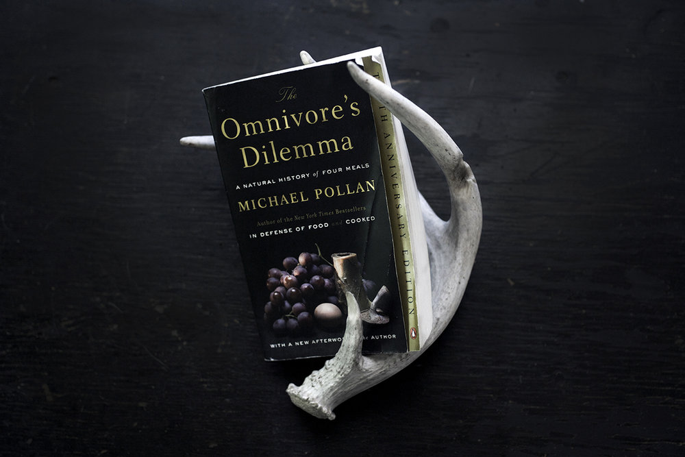 The Omnivore's Dilemma , by Michael Pollan. Find it  here .