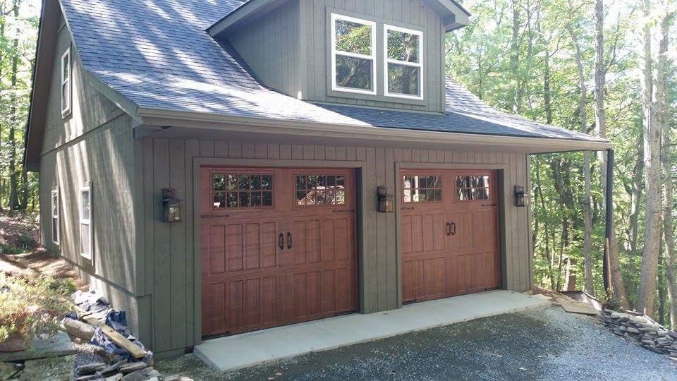Double Garage Door Installation   Valley Garage Door Company