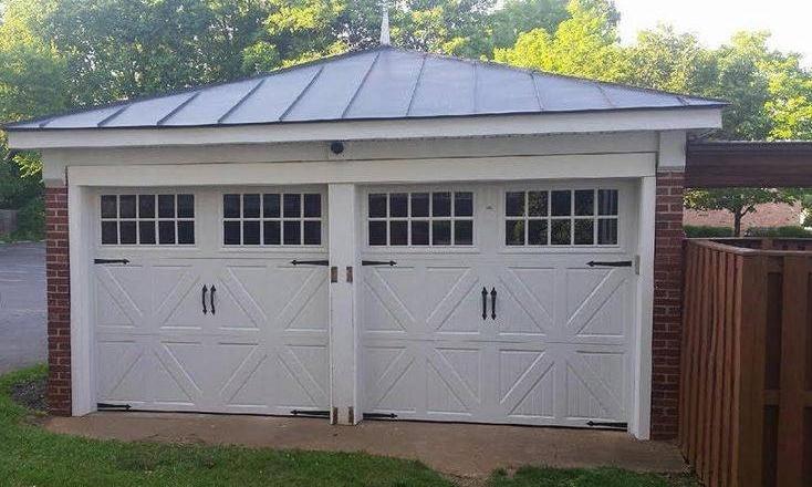 Double Garage Door Setup   Valley Garage Door Company