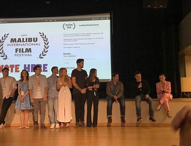 Dylan team post Malibu premiere. • • • • • #thedylanfilm #fearyourfriends #indiefilm #indiefilmmakers #womeninfilm #thriller #scarymovie #comingtoatheatrenearyou #filmfestivals #festivalrun2018 #filmfestivallife