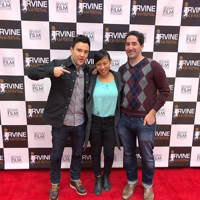 #Latergram of the Dylan team at the Irvine International Film Festival #festlife