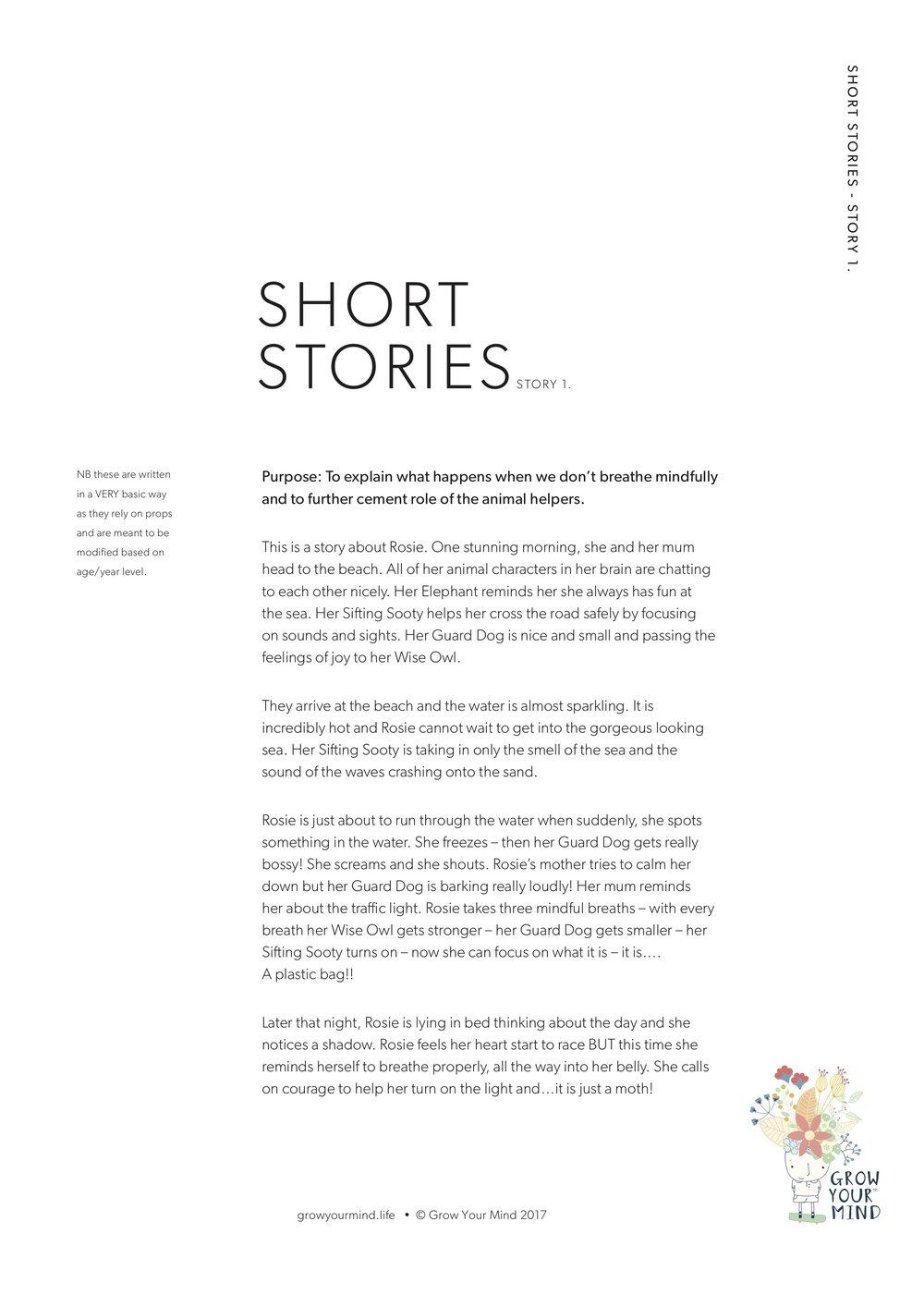 Short Stories -