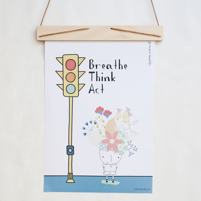 - TRAFFIC LIGHT POSTER - Our A3 traffic light poster instructs students in emotional regulation.
