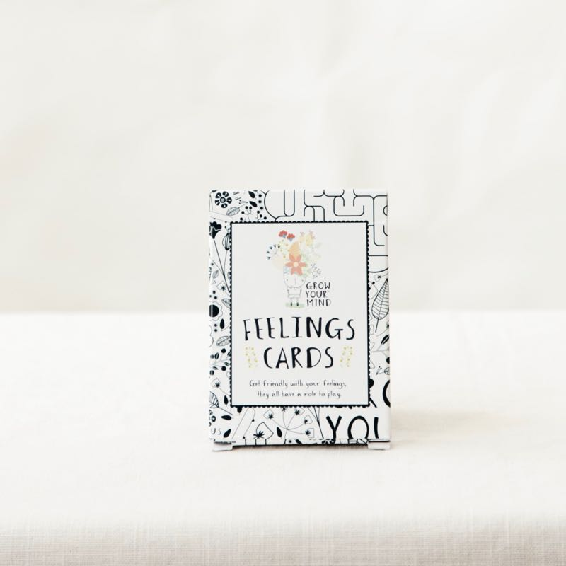 - FEELINGS CARDS - A set of illustrated cards with a range of feelings to play with, act out and laugh over. These cards are aimed to develop your child's emotional literacy.