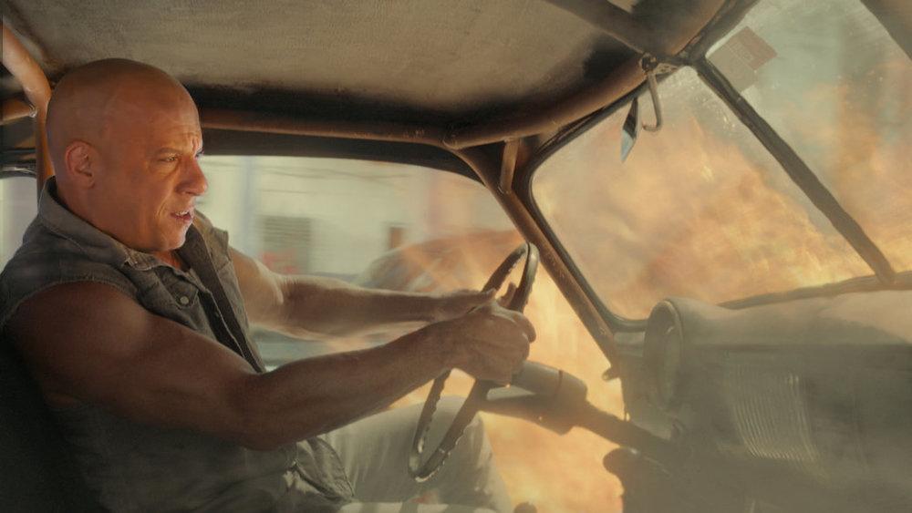 """Vin Diesel en una de las carreras con que inicia """"Rápidos y Furiosos 8"""", película que tiene secuencias grabadas en La Habana CreditUniversal Pictures"""
