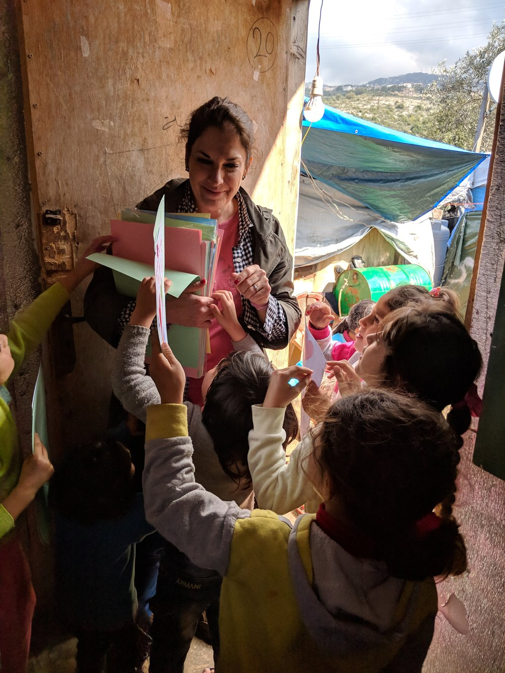 Hudson woman finds calling to help Syrian refugee children - Read the articleBy Massarah MikatFriday, March 9, 2018