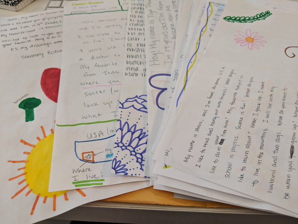 pen-pals supporting education - Benefit Concert in Hudson, NY aims to help kids on the other side of the globe
