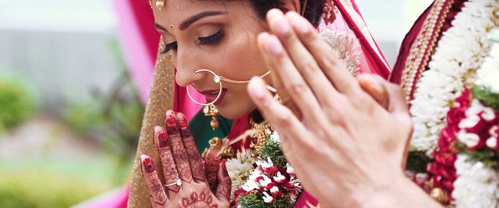 Hindu Wedding - Image extracted from Indian wedding film.