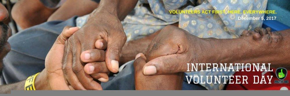 Volunteer Today. Change Tomorrow
