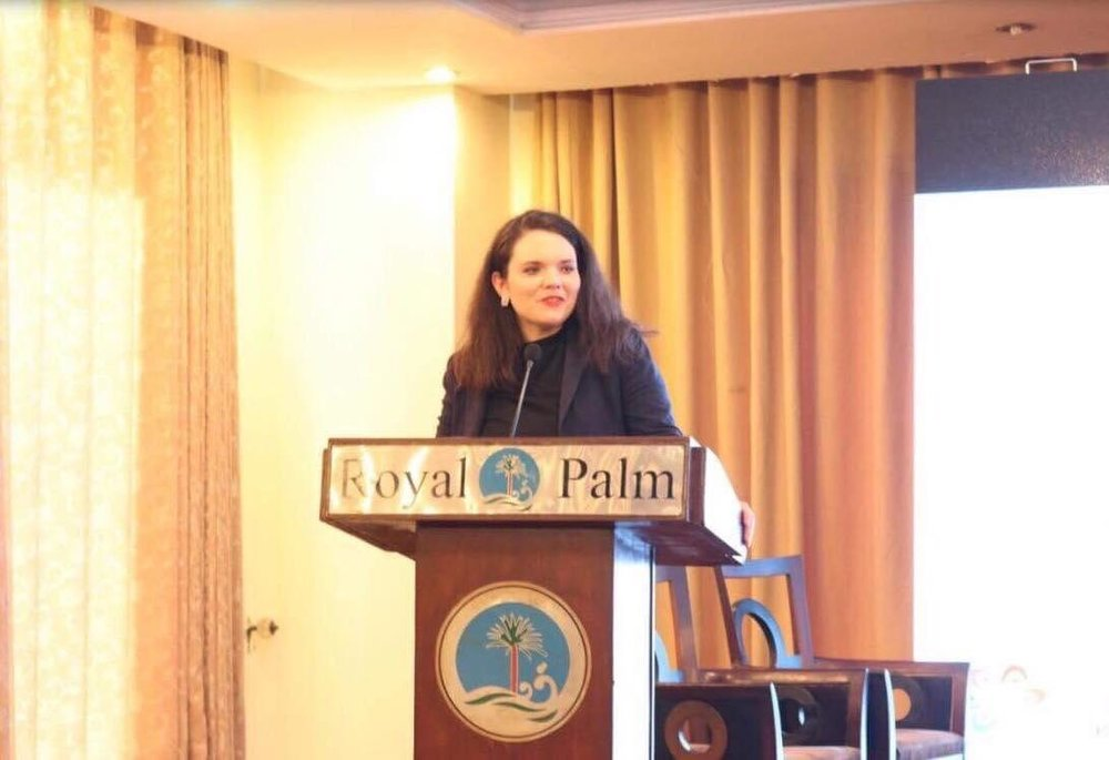 Tamara giving a speech on sustainable tourism at the 2nd international conference of Culture in Lahore, Pakistan in 2017. It was great experience for her to take a group of Australian youth and break down the negative stereotypes about Pakistani culture and society.