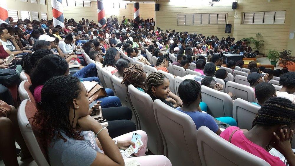 UWI Social Sciences Orientation 2018. Photo taken by Neville Charlton