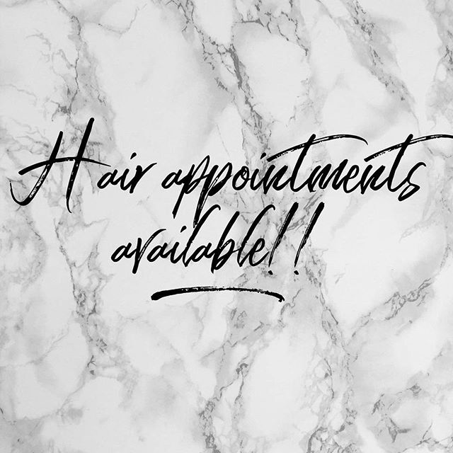 The wait is over! Things have slowed down at Serendipity so no more long wait times for hair appointments. I have spots available as early as Tuesday! Call the salon to secure your spot 51580557 💜Cass xx