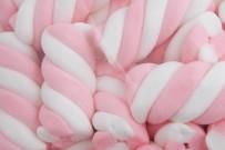 pink swirl marshmallow -