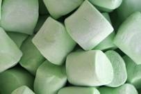 green marshmallow -