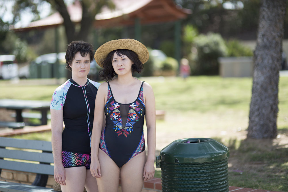BEACH - Despite recent romantic mishaps, Michelle congratulates Chloë on organising a double-date with Eddy and Marny at the beach. It's a real step forward for them both, romantically, but Chloë's location choice leaves something to be desired for a newly bald woman with a large number of wig-related anxieties.