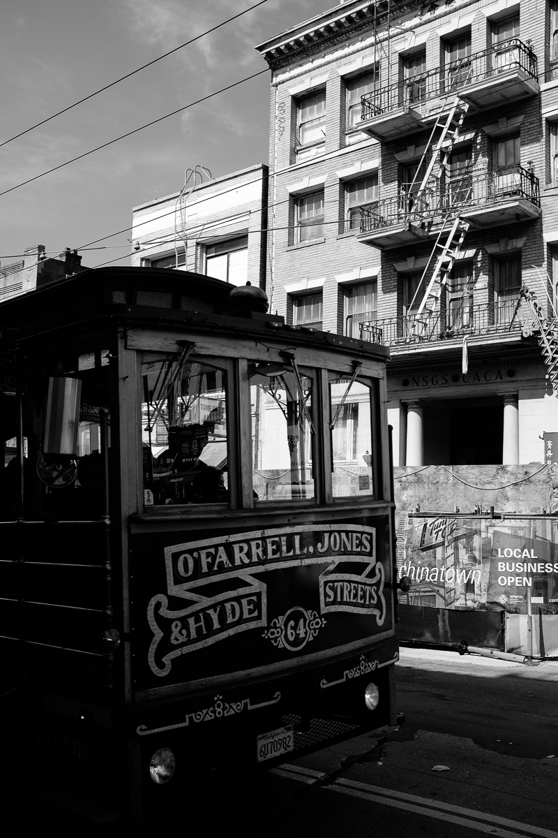 Hyde Street Car San Francisco