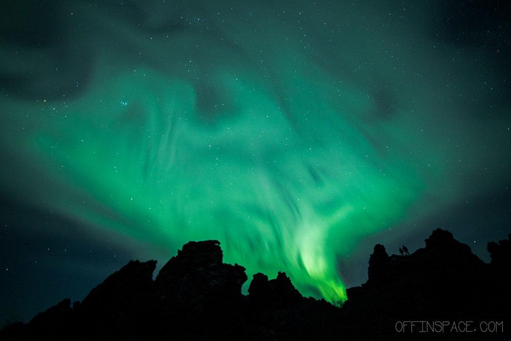 Dimmuborgir, Iceland, 2016