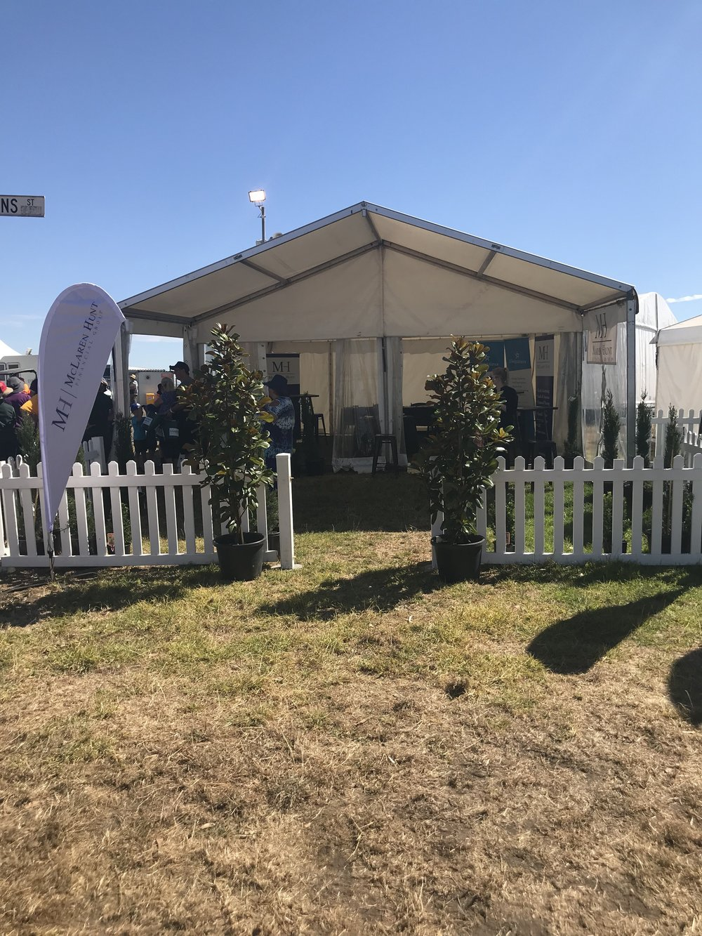 Sungold Field Days Marquee Hire | Hamilton Marquee Hire