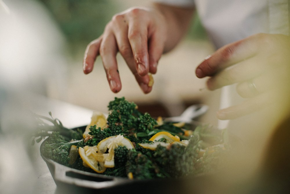 Plant based cooking class -