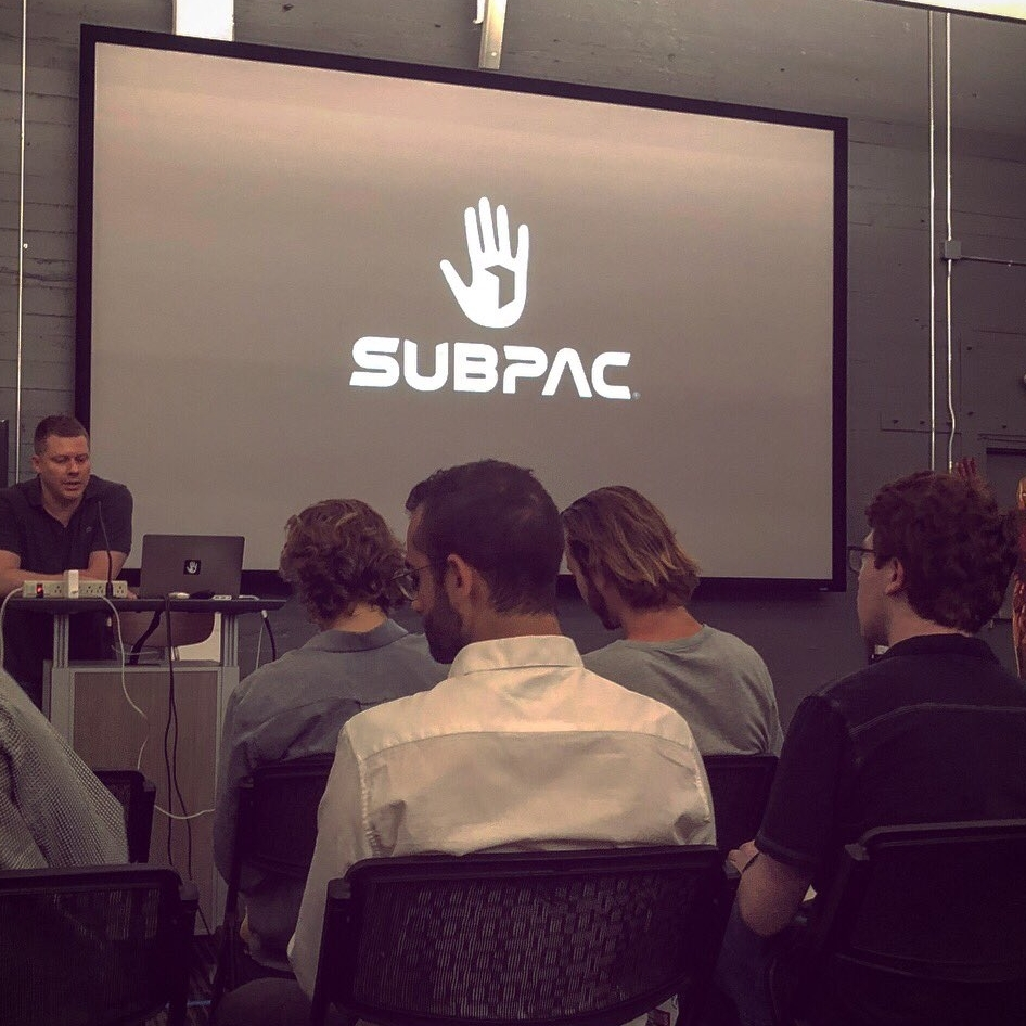 Day 3 - Playgrounds and SUBPACFireside Chat with Founders, Facility Tour, Product Demos, and Mini-Design Challenge