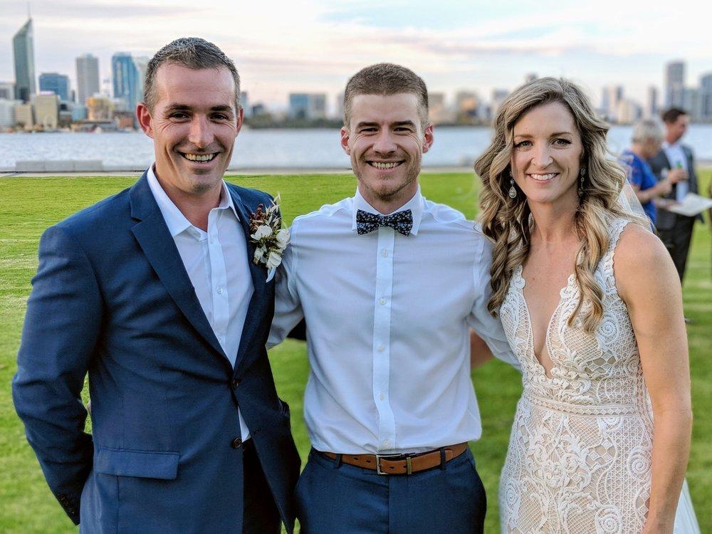 Josh Henderson Perth Marriage Celebrant