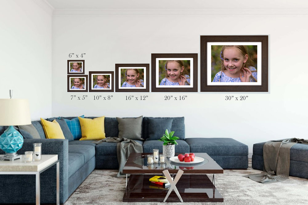 These different size images should give you an idea of how big a print you need.