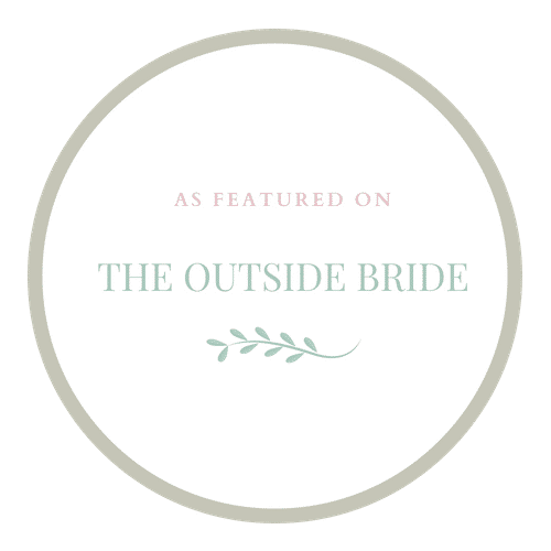 Our real weddings have been featured on The Outside Bride journal | Nottingham wedding photographer