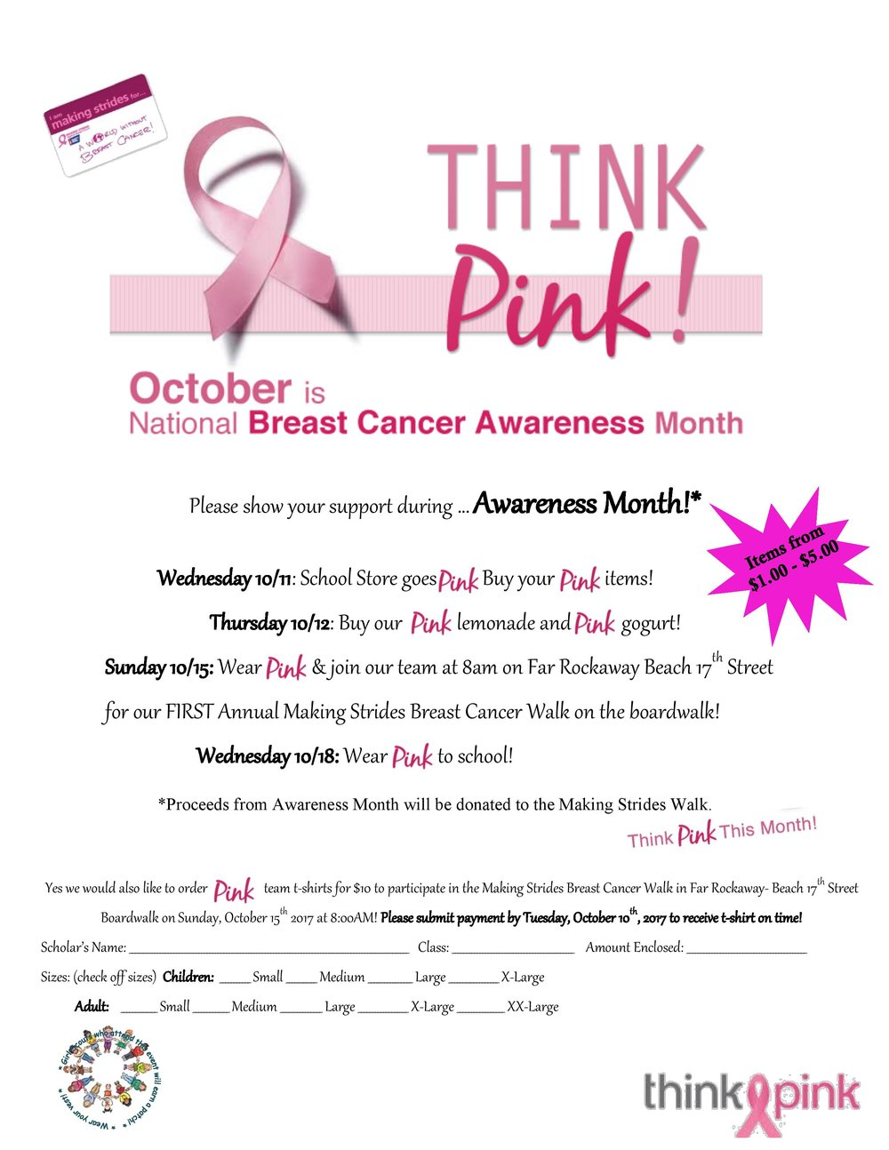 CPCS Goes Pink Flyer