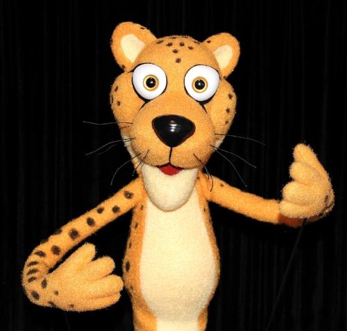 Champ, Cheetah mascot and Character Ambassador